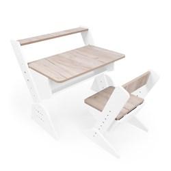 """Детская растущая парта и стул Я САМ """"Так Так"""" (Дуб серый) - фото 36725"""