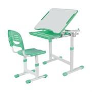 Растущая парта и стул FunDesk Piccolino (Зеленый)
