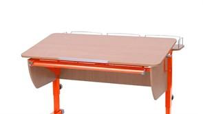 Приставка фронтальная Астек для парт ТВИН/ТВИН-2 и МОНО/МОНО-2 (Цвет каркаса:Оранжевый, Цвет товара:Бук)