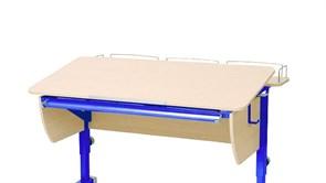 Приставка фронтальная Астек для парт ТВИН/ТВИН-2 и МОНО/МОНО-2 (Цвет каркаса:Синий, Цвет товара:Береза)