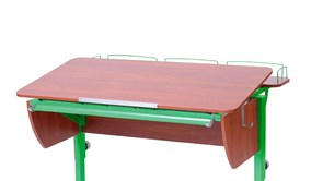 Приставка фронтальная Астек для парт ТВИН/ТВИН-2 и МОНО/МОНО-2 (Цвет каркаса:Зеленый, Цвет товара:Яблоня)