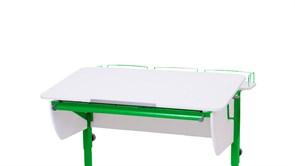 Приставка фронтальная Астек для парт ТВИН/ТВИН-2 и МОНО/МОНО-2 (Цвет каркаса:Зеленый, Цвет товара:Белый)