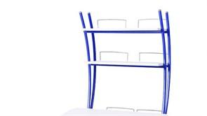Надстройка Астек на парту КОЛИБРИ и ЮНИОР (Цвет каркаса:Синий, Цвет товара:Белый)