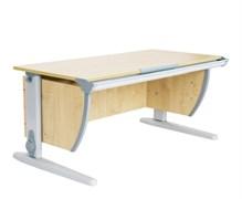Парта ДЭМИ СУТ-15 120х55 см (Цвет столешницы:Клен, Цвет ножек стола:Серый)