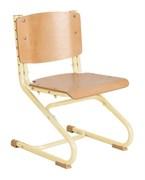 Растущий стул ДЭМИ ДЕРЕВО СУТ.02-01 (регулируется в 3-х плоскостях) (Цвет сиденья и спинки стула:Клен, Цвет каркаса:Бежевый)