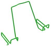 Подставка для книг ДЭМИ для наклонных столешниц ПК-01 (Цвет товара:Зеленый)
