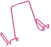 Подставка для книг ДЭМИ для наклонных столешниц ПК-01 (Цвет товара:Розовый)