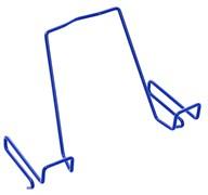 Подставка для книг ДЭМИ для наклонных столешниц ПК-01 (Цвет товара:Синий)