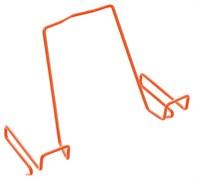 Подставка для книг ДЭМИ для наклонных столешниц ПК-01 (Цвет товара:Оранжевый)