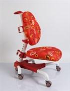 Компьютерное кресло для школьника Mealux Champion (Красный с кольцамb)