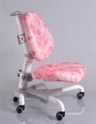 Компьютерное кресло для школьника Mealux Champion (Розовый с кольцами)