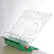Подставка-трафарет для книг к партам Дэми ПДК-01 (Цвет товара:Зеленый)