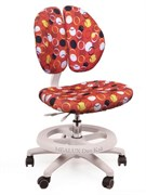Детское кресло для школьника Mealux Duo Kid (Красный с кольцами)