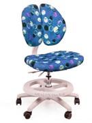 Детское кресло для школьника Mealux Duo Kid (Синий с кольцами)