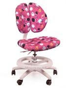 Детское кресло для школьника Mealux Duo Kid (Розовый с кольцами)