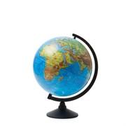 Глобус Земли физический Globen 320 мм Классик (Цвет товара:Черный)