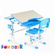 Комплект парта и стул FunDesk Lavoro (Голубой)