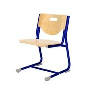 Стул - трансформер Астек SF-3 (Цвет сиденья и спинки стула:Береза, Цвет каркаса:Синий)