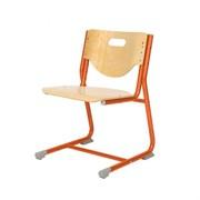 Стул - трансформер Астек SF-3 (Цвет сиденья и спинки стула:Береза, Цвет каркаса:Оранжевый)