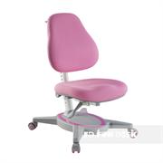 Ортопедическое детское кресло FunDesk Primavera I (Цвет обивки:Розовый, Цвет каркаса:Серый)