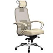 Эргономическое офисное кресло Metta SAMURAI SL-2.03 (Цвет обивки:Черный, Цвет каркаса:Серебро)