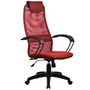 Офисное кресло Metta BP-8 (Цвет обивки:Красный, Цвет каркаса:Черный)