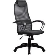 Офисное кресло Metta BP-8 (Цвет обивки:Тёмно - серый, Цвет каркаса:Черный)