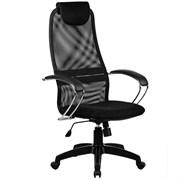 Офисное кресло Metta BK-8 (Цвет обивки:Черный, Цвет каркаса:Черный)