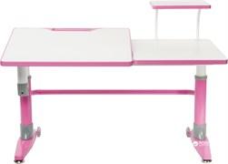 Парта-трансформер для школьника FunDesk Ballare с полкой (Розовый)