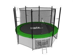 Батут UNIX line inside (244 см / 8 ft) (Цвет каркаса:Зеленый)