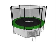 Батут UNIX line outside (244 см / 8 ft) (Цвет каркаса:Зеленый)