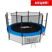 Батут UNIX line inside (427 см / 14 ft) (Цвет каркаса:Синий)