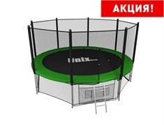 Батут UNIX line outside (427 см / 14 ft) (Цвет каркаса:Зеленый)