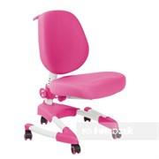 Подростковое кресло для дома FunDesk Buono (Цвет обивки:Розовый, Цвет каркаса:Серый)