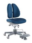 Детское кресло TCT Nanotec Duoback Chair с подставкой для ног (Цвет обивки:Синий, Цвет каркаса:Белый)