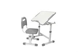 Комплект парта и стул трансформеры Fundesk Sole 2 (Серый)