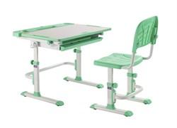 Комплект Cubby парта и стул трансформеры Disa (Зеленый)