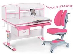 Комплект парта и кресло Mealux EVO-50 (Y-115) (Белый, Розовый)