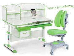 Комплект парта и кресло Mealux EVO-50 (Y-115) (Белый, Зеленый)