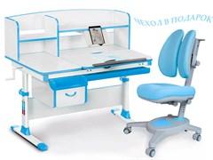 Комплект парта и кресло Mealux EVO-50 (Y-115) (Белый, Голубой)