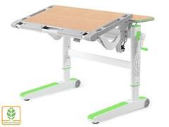 Детский стол Mealux ErgoWood M (Клен, Зеленый)