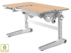 Детский стол Mealux KingWood (Клен, Серый)