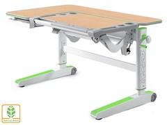 Детский стол Mealux KingWood (Клен, Зеленый)