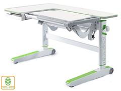 Детский стол Mealux KingWood (Белый, Зеленый)
