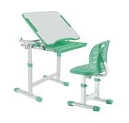 Детская парта растишка и стул FunDesk Piccolino III (Зеленый)