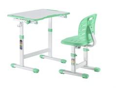 Детская парта и стул FunDesk Omino (Зеленый)