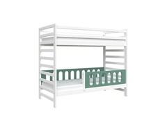 Кровать детская Domus Mia Royal Gamma (Цвет товара:Зеленый)