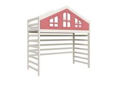 Кровать детская Domus Mia Royal Beta (Цвет товара:Розовый)