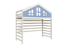 Кровать детская Domus Mia Royal Beta (Цвет товара:Голубой)