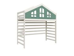 Кровать детская Domus Mia Royal Beta (Цвет товара:Зеленый)